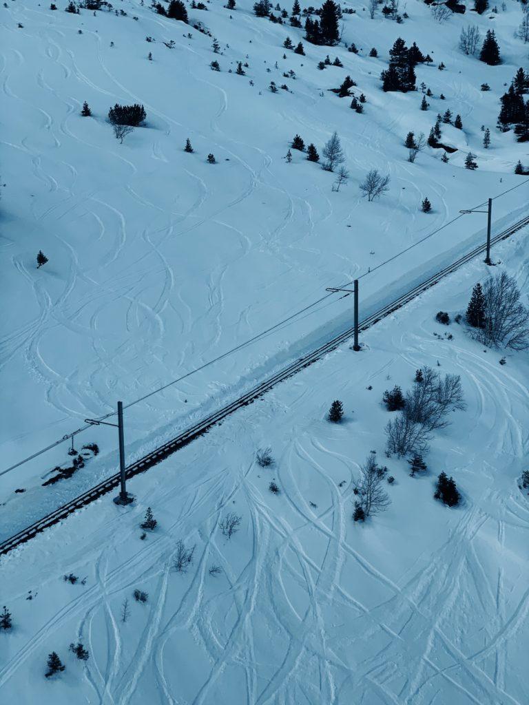 Matthias Maier   Snow tracks