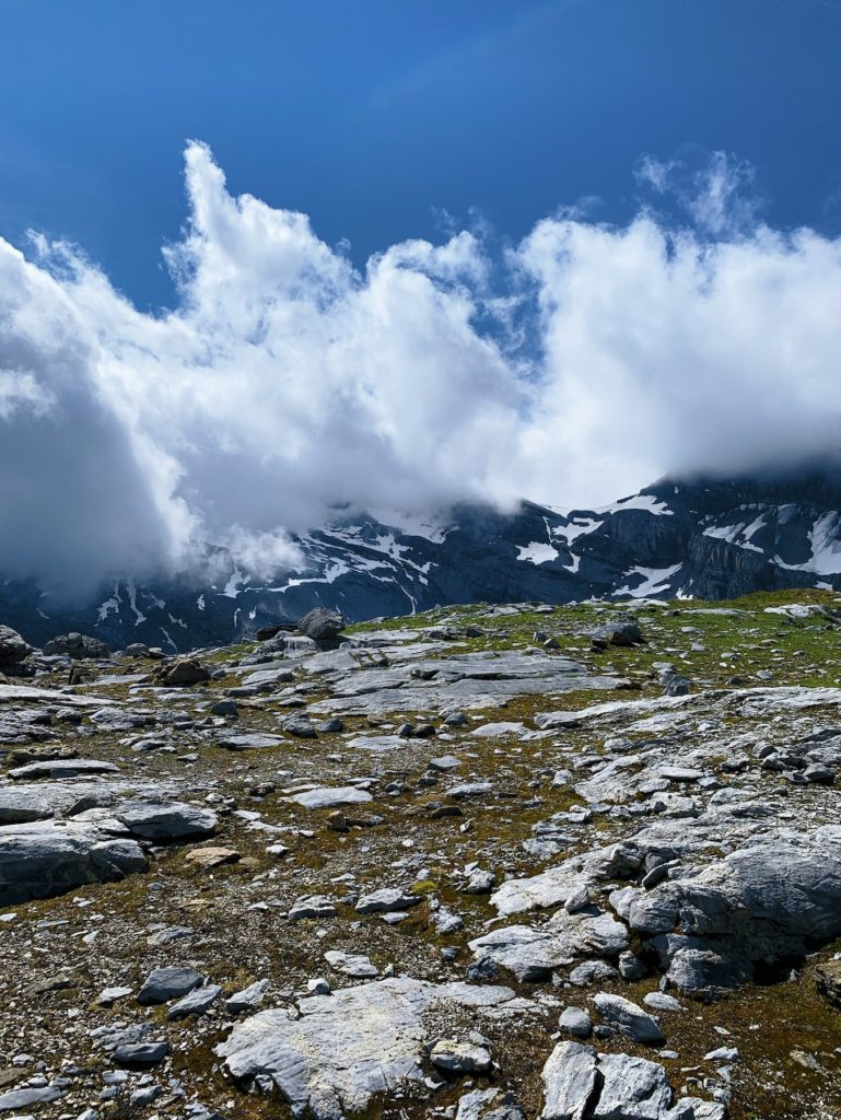 Matthias Maier   Peaks in the clouds