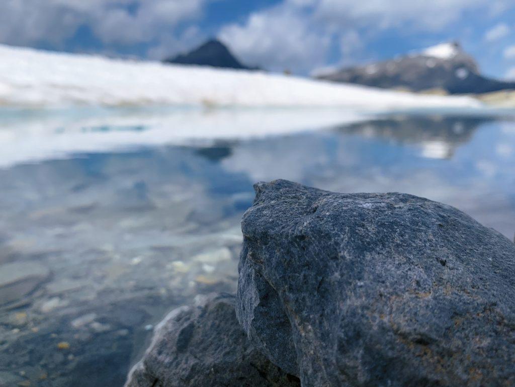 Matthias Maier   By the glacial lake